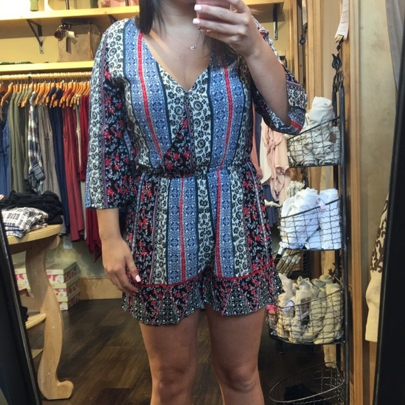Francesca's Collections Other - Francesca's Romper